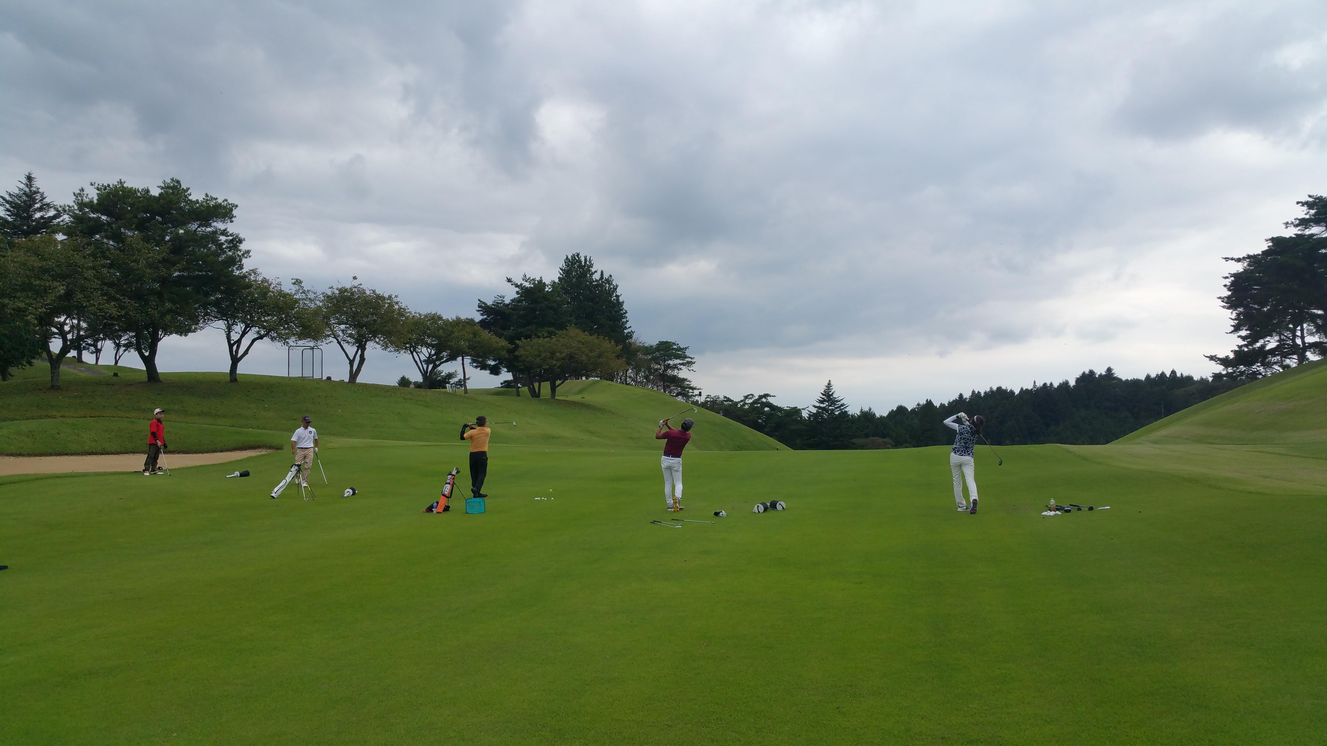 ゴルフ合宿のご報告