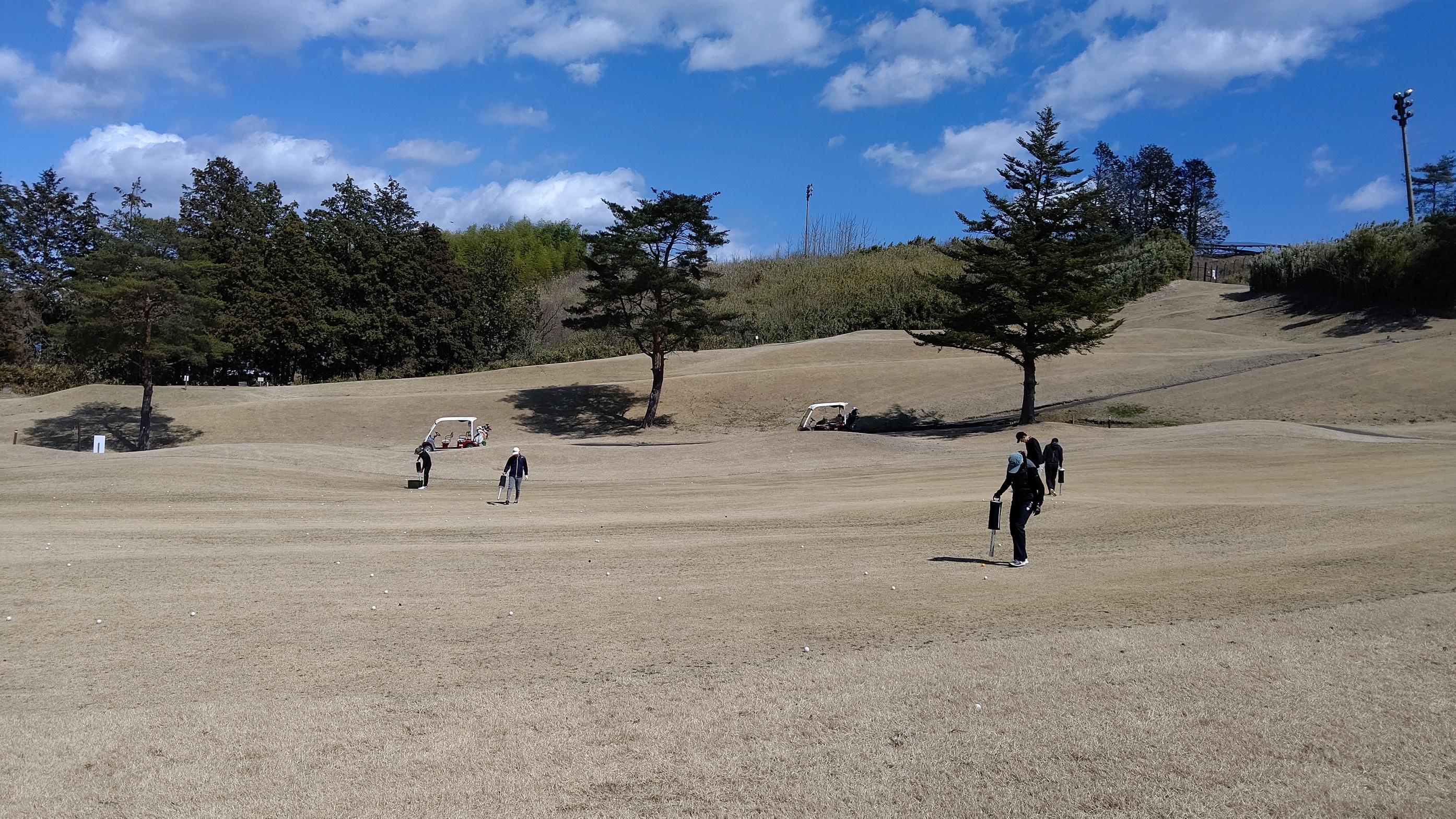 2020年初ゴルフ合宿