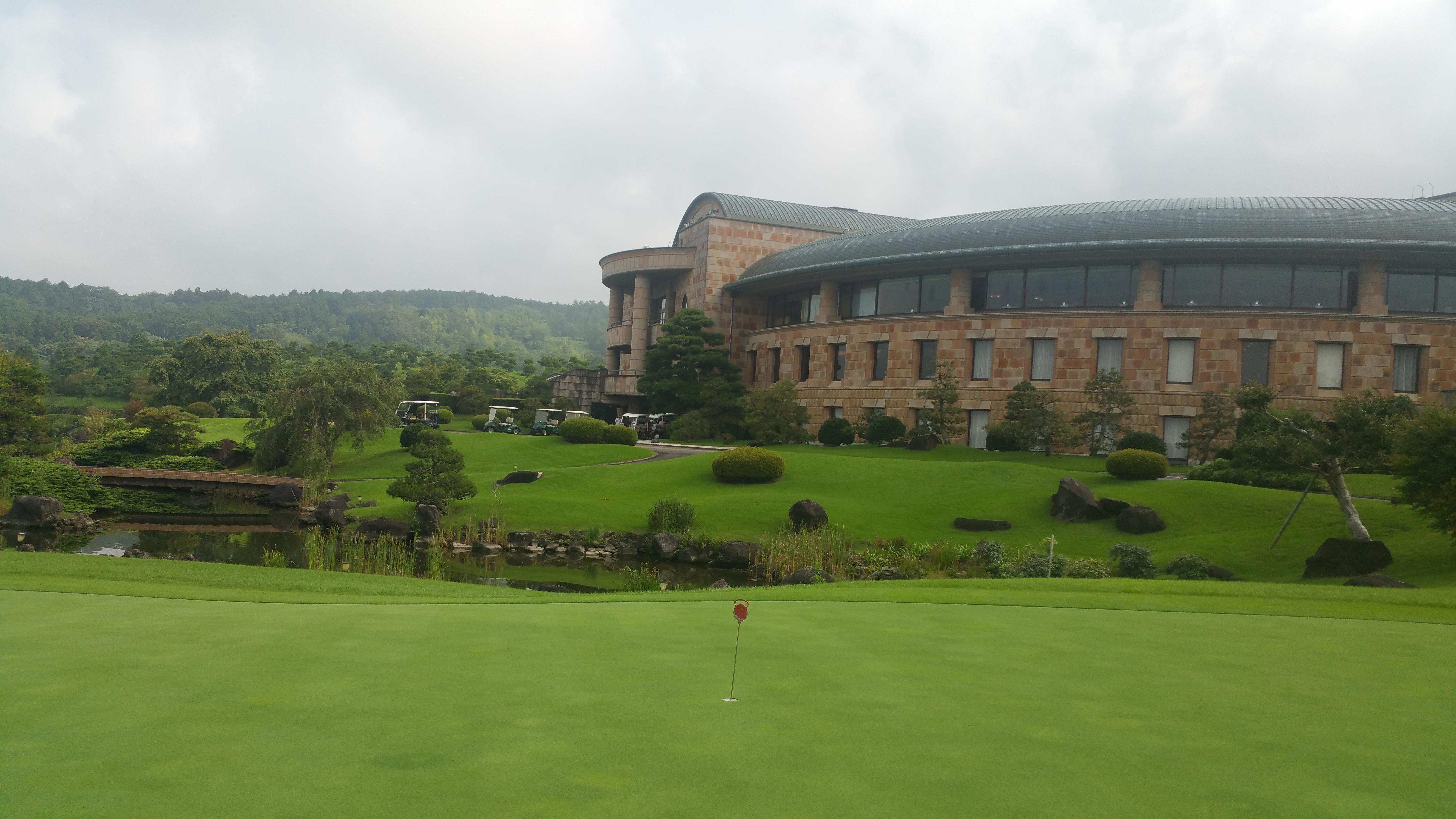 真夏のゴルフ