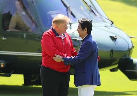 安部総理とトランプ大統領もゴルフ好き